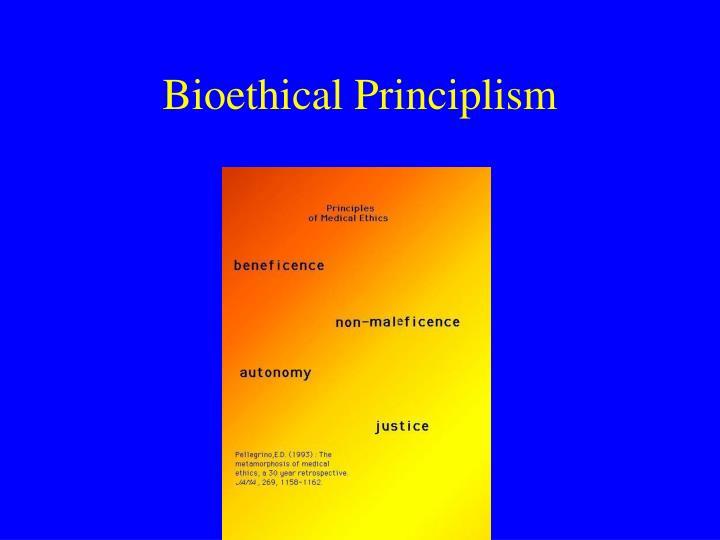 Bioethical Principlism