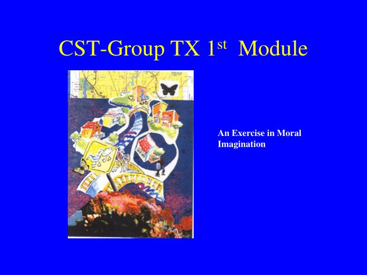 CST-Group TX 1