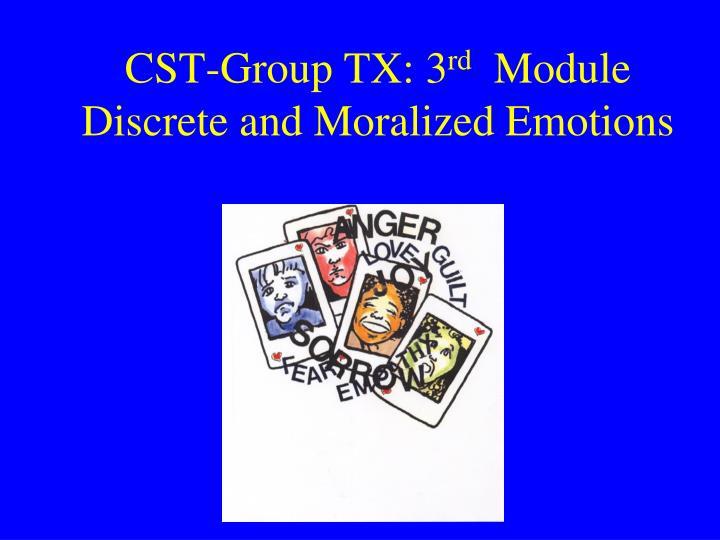 CST-Group TX: 3