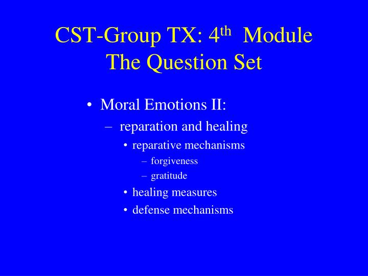 CST-Group TX: 4