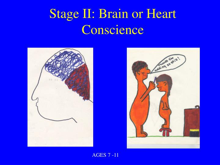 Stage II: Brain or Heart Conscience