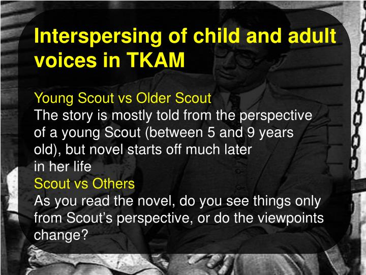 Interspersing of child and adult