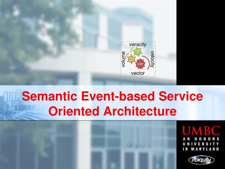 semantic event based service oriented architecture n.