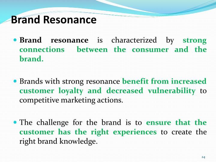 Brand Resonance
