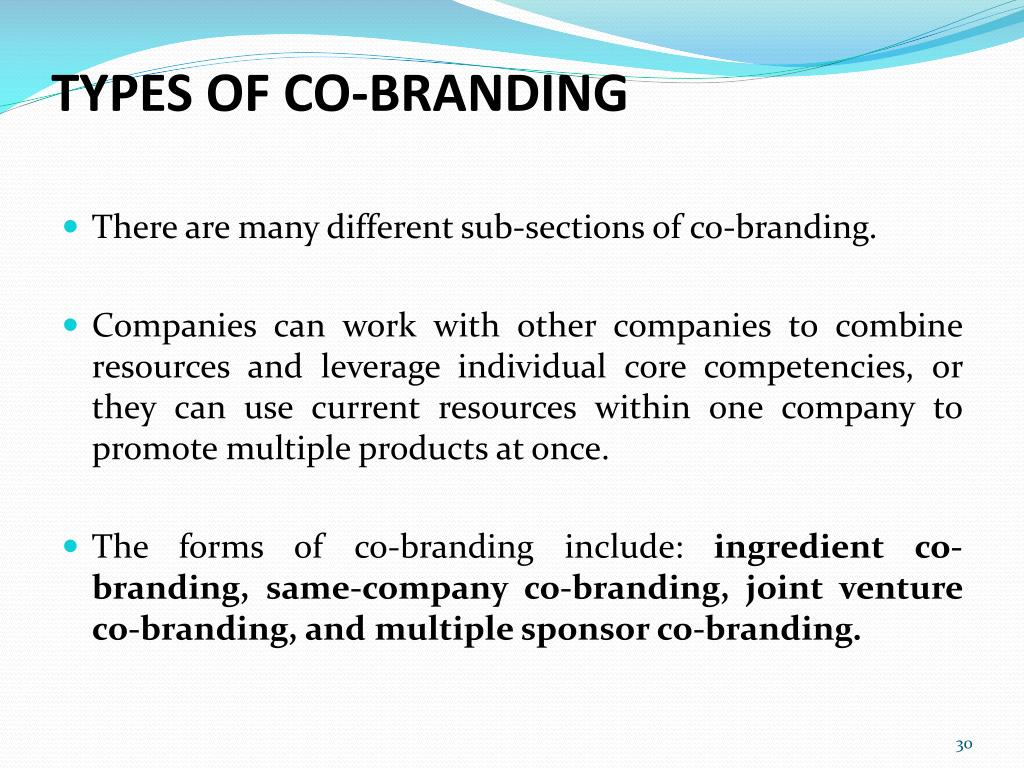 PPT - Brands can include a number of elements: PowerPoint