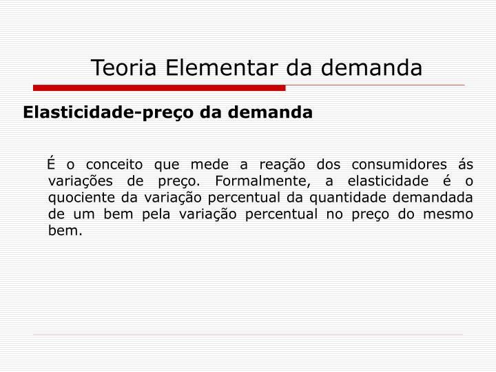 Teoria elementar da demanda1
