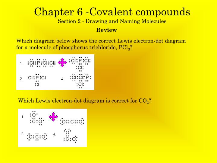 ppt chapter 6 covalent compounds section 2 drawing. Black Bedroom Furniture Sets. Home Design Ideas