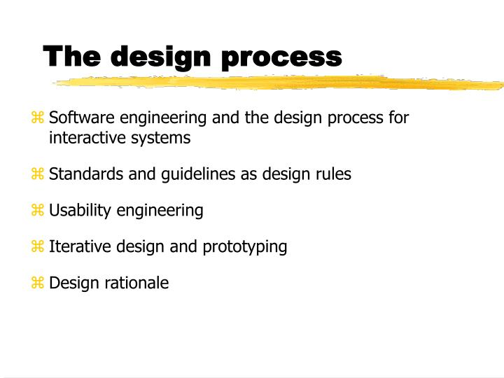 Ppt The Design Process Powerpoint Presentation Free Download Id 6102168