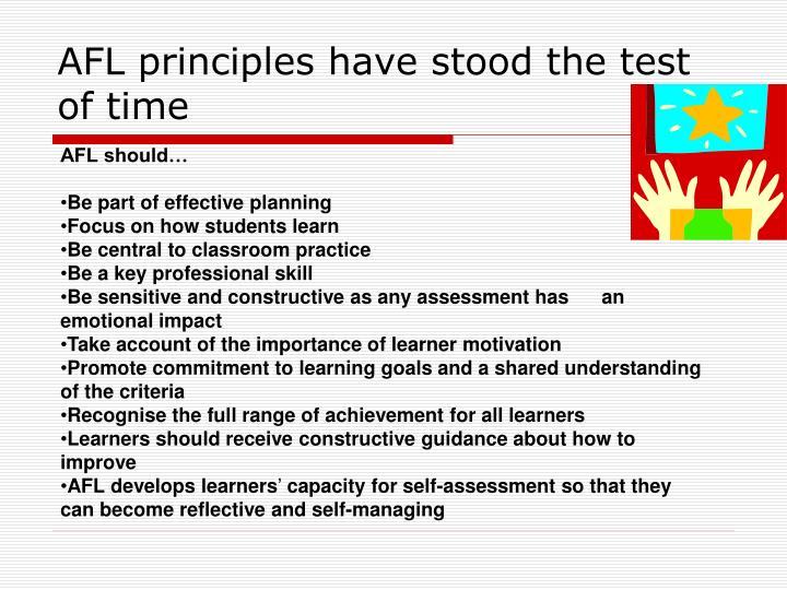 AFL principles have stood the test of time
