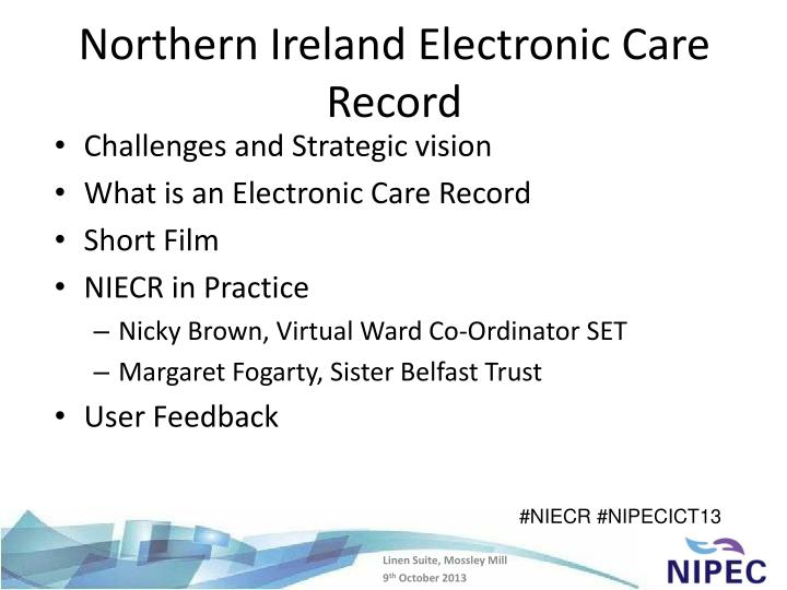 Northern ireland electronic care record