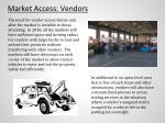 market access vendors
