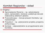komitet region w sk ad2