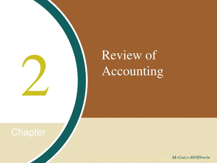 review of accounting n.