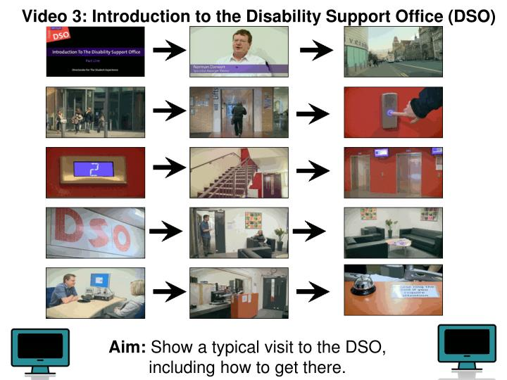 Video 3: Introduction to the Disability Support Office (DSO)