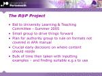 the r@p project