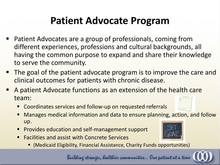 Patient Advocate Program