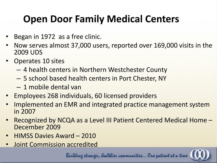 Began in 1972  as a free clinic.
