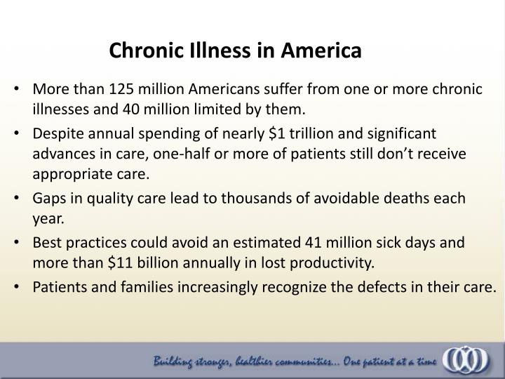 Chronic Illness in America