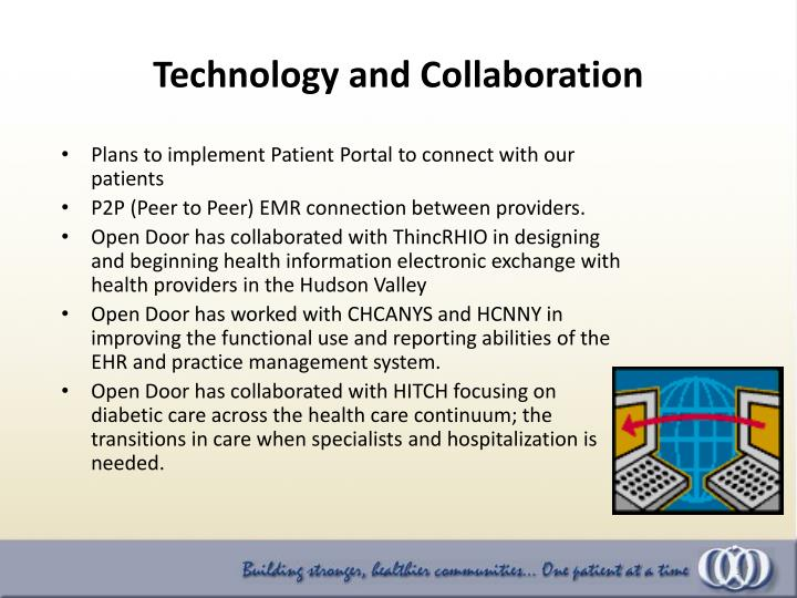Plans to implement Patient Portal to connect with our patients