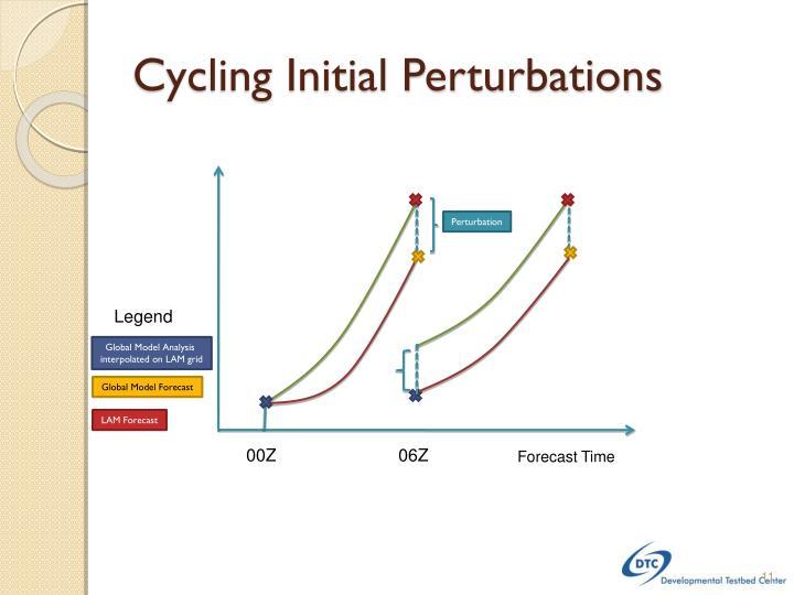 Cycling Initial Perturbations