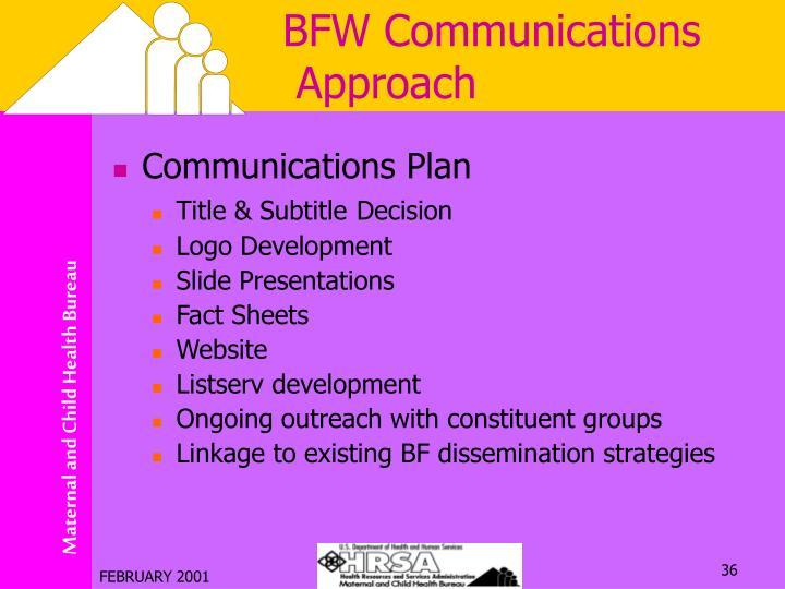 BFW Communications