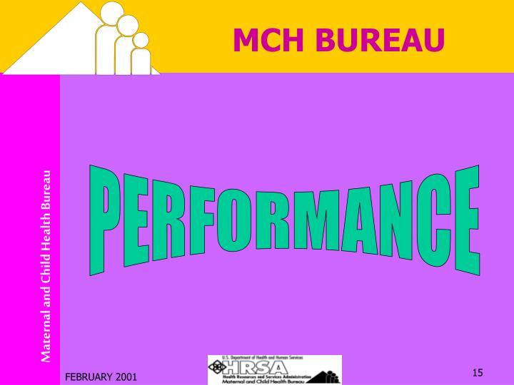 MCH BUREAU