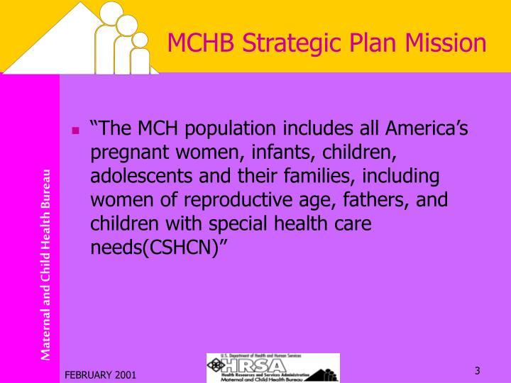 Mchb strategic plan mission1