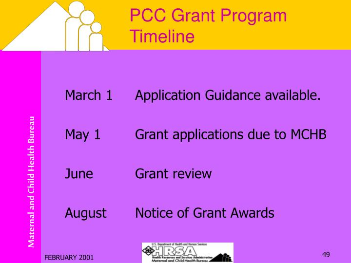 PCC Grant Program