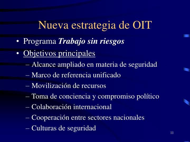 Nueva estrategia de OIT