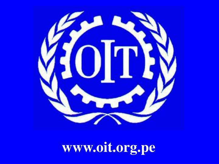 www.oit.org.pe