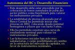 autonom a del bc y desarrollo financiero2