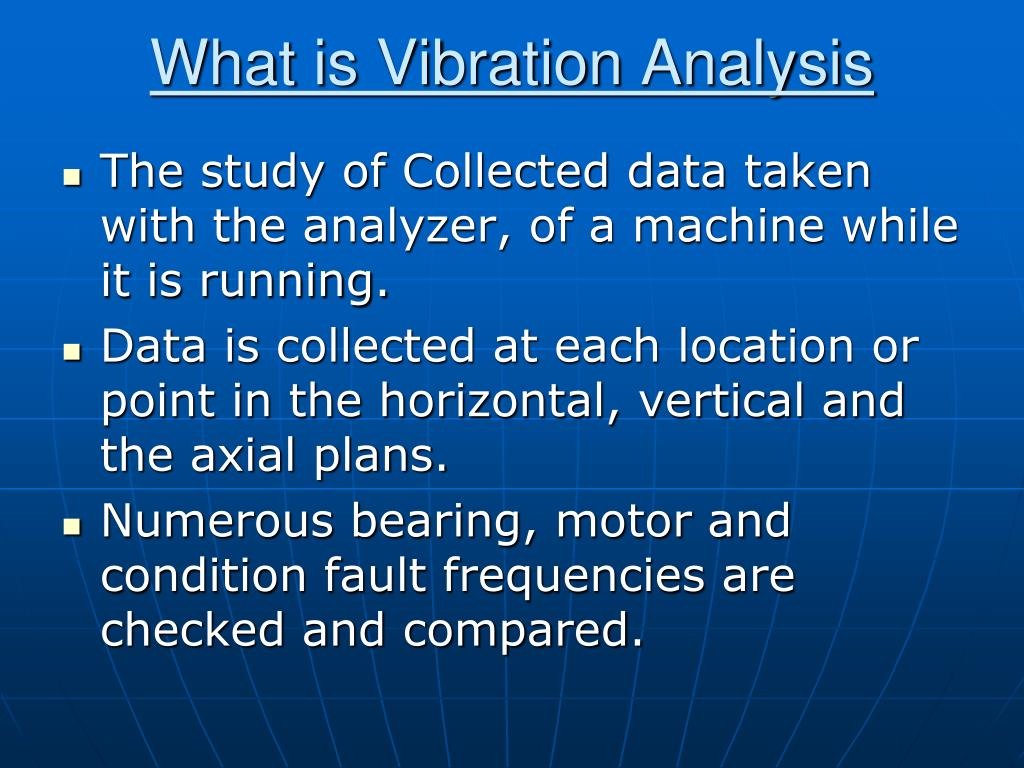 PPT - Vibration Analysis & Balancing PowerPoint Presentation - ID
