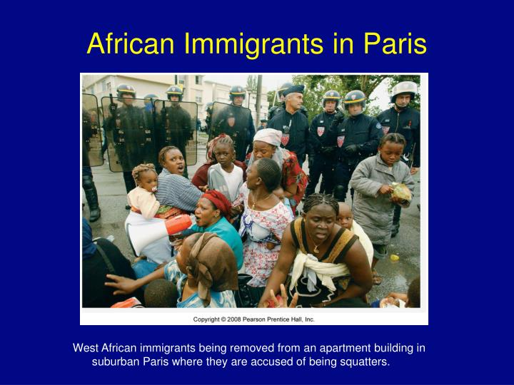 African Immigrants in Paris