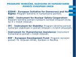 programi tehni ne razvojne in humanitarne pomo i evropske unije1