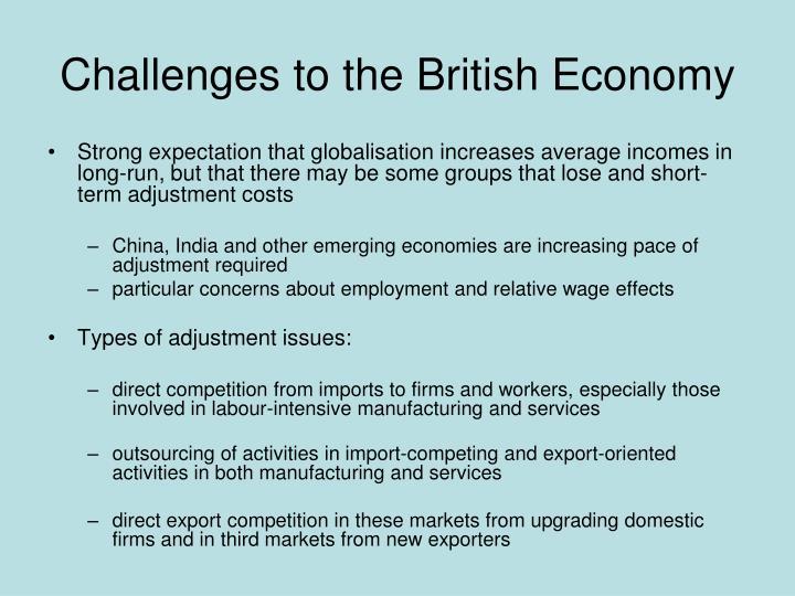 Challenges to the British Economy