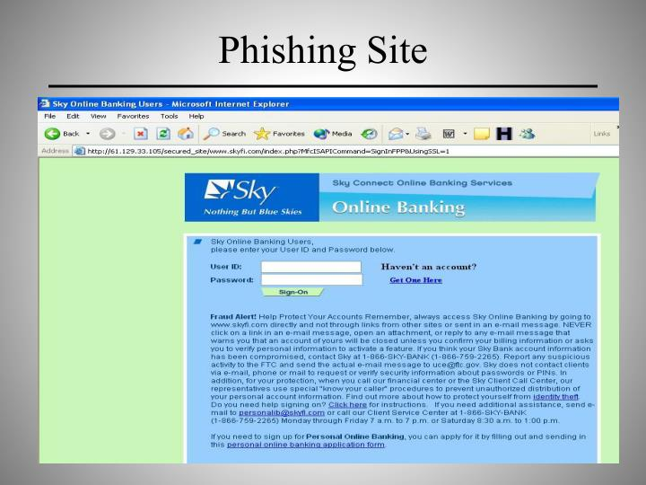 Phishing Site