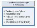 the meaning of the signs1