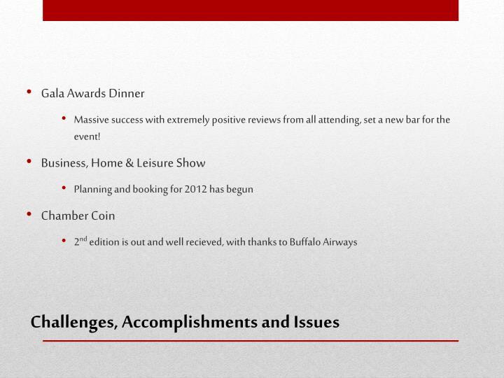 Gala Awards Dinner