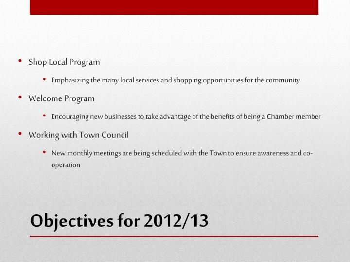 Shop Local Program