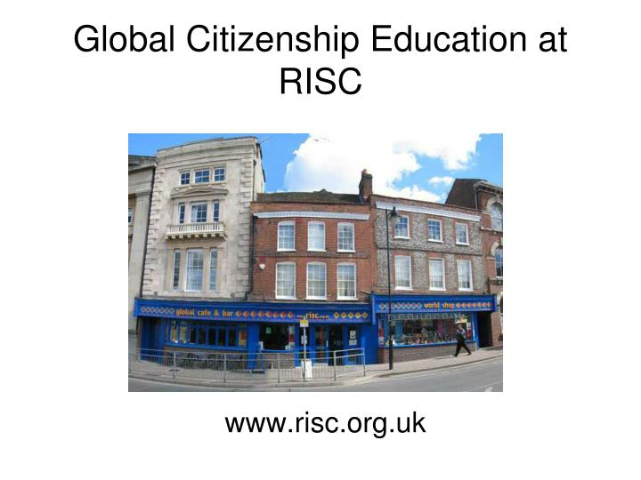 Global Citizenship Education at RISC