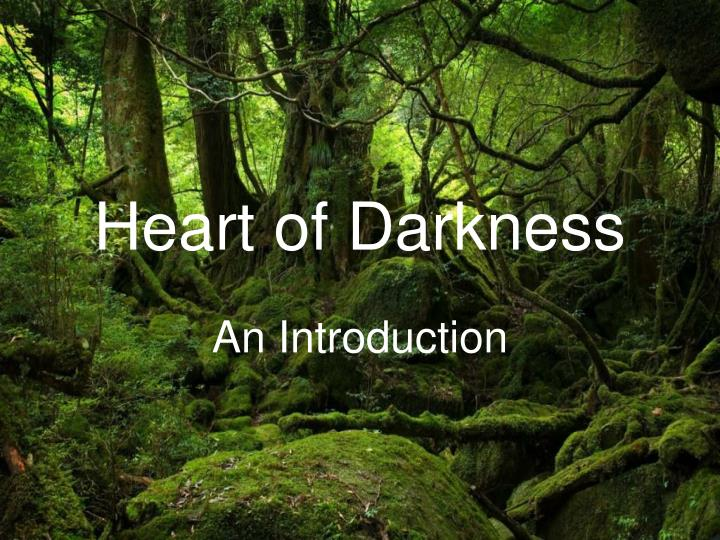 heart of darkness thesis Heart of darkness, a novel by joseph conrad, and apocalypse now, a movie by francis ford coppola can be compared and contrasted in many ways by focusing on their endings and on the character of kurtz, contrasting the meanings of.