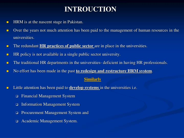 stages of human resource management