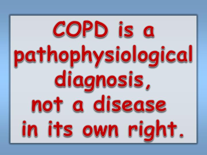 COPD is a