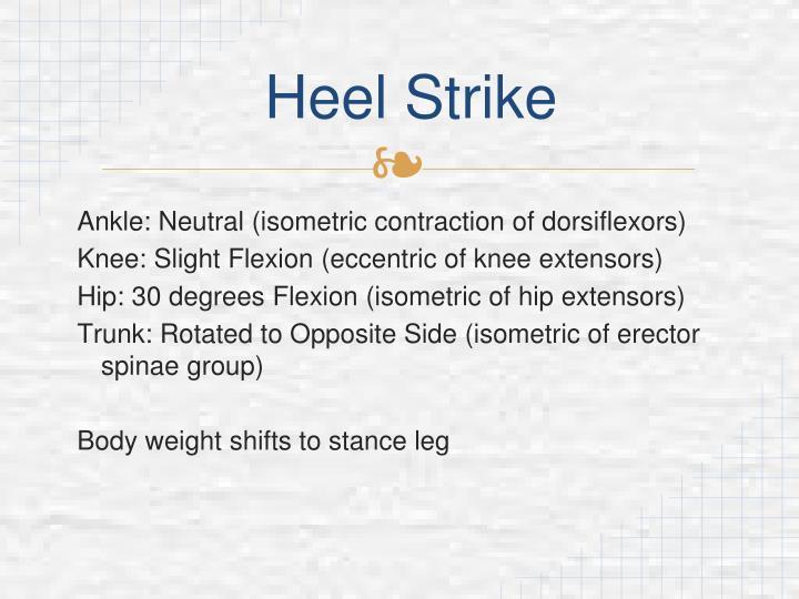 Heel Strike