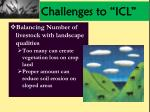 challenges to icl