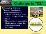 challenges to icl2