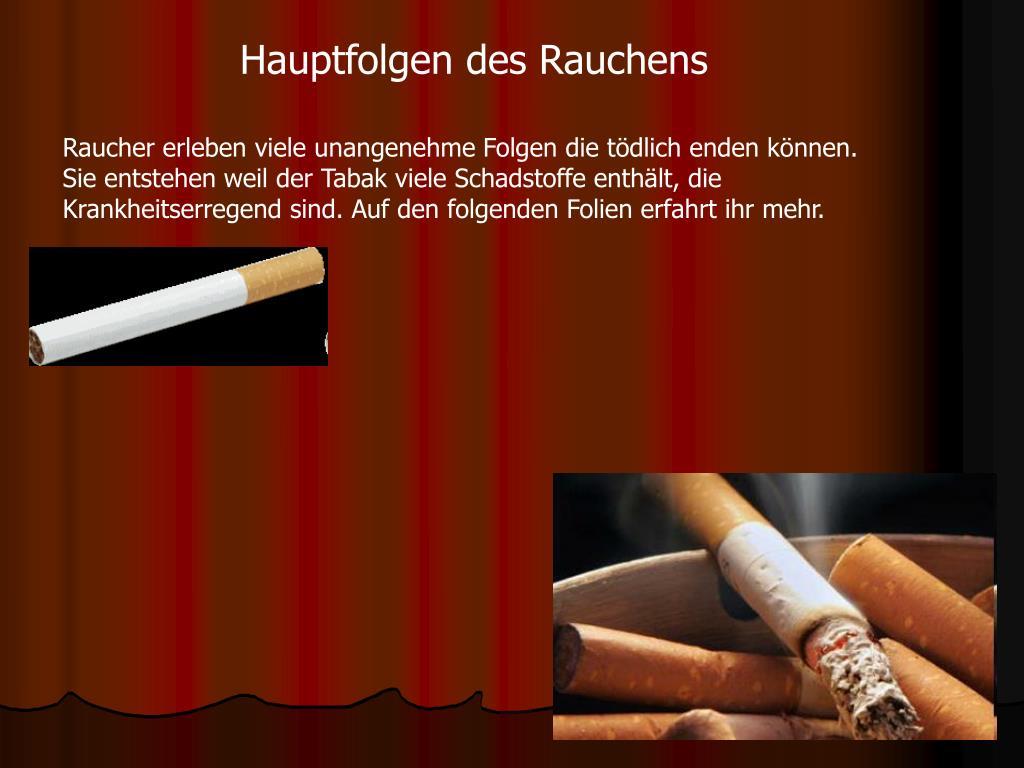 Warum Ist Rauchen Ungesund
