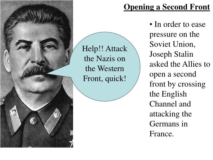 Opening a Second Front