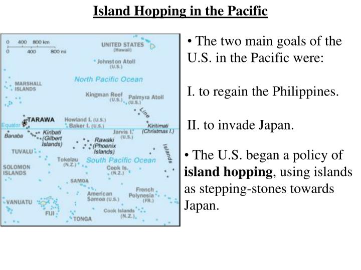 Island Hopping in the Pacific