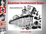 american involvement grows